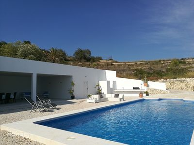 Photo for FINCA with SEA views. WONDERFUL POOL