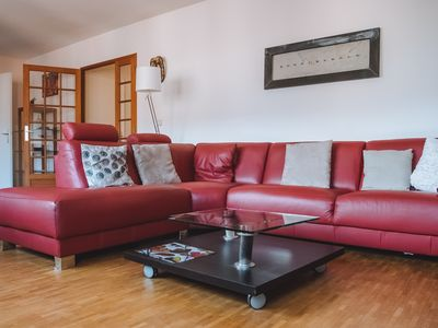 Photo for Large bright apartment located in Place St Pierre
