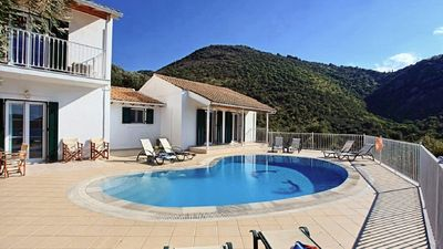 Photo for Villa for 8 people in the north of Corfu