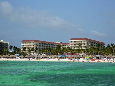 Photo for Best rates, all weeks! Reserve your 2 bedroom Marriott Aruba Ocean villa now!