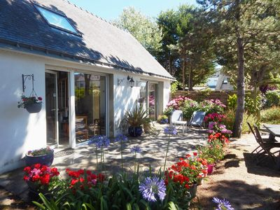 Photo for QUIBERON Port Haliguen, cozy house, independant, 70m2, WIFI, parking garden, 300m beaches