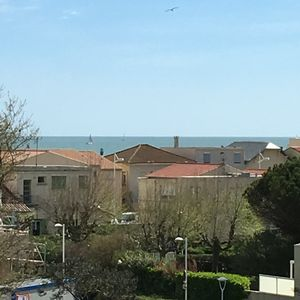 Photo for Studio with sea view, and private parking, close to the Beach and Port!