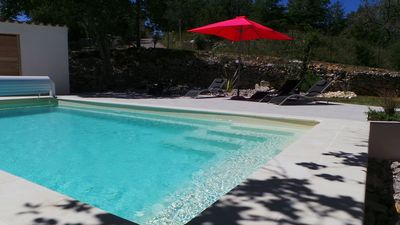 Photo for SOUTH ARDECHE New villa with private pool - 6 to 8 people