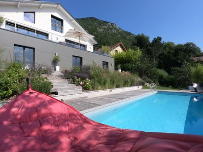 Photo for Annecy-le-Vieux- Modern villa, Pooln : Natacha