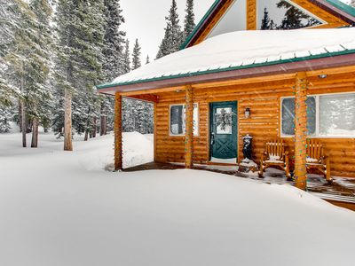 Photo for Whimsical Hollow/2 Bedrooms/1 Bath/ Mountain Views/Wood Fireplace/Wooded Lot/Near National Forest