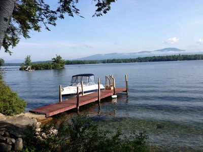 Photo for Lake Winnipesaukee, Little Bear Island Cottage w/shared Dock
