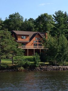Photo for Amazing Brand New Lakefront Cabin