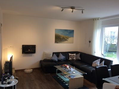 Photo for Cozy apartment **** on Borkum in the city center, 500m beach + garden, wifi, barbecue