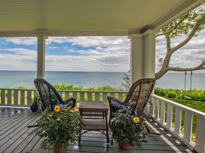Photo for Breathtaking Oceanfront Historic 'House by the Sea'  Rare