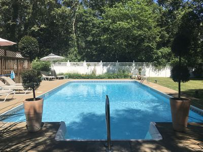 Photo for Quiet Setting with an In-Ground Pool & Close to Downtown Edgartown