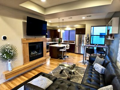 Photo for Rooftop Retreat-modern townhome in the heart of LoHi- roof deck-walk everywhere!