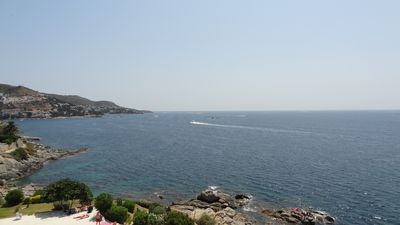 Photo for Large apartment with large terrace and sea view 180 °