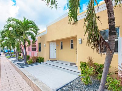 Photo for Art Deco Beach Bungalows, Only 1 Block to Hollywood Beach!