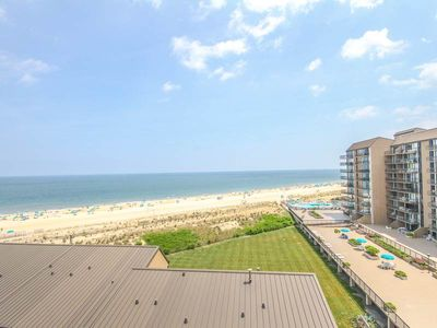 Photo for B707: Updated 2BR Sea Colony Oceanfront Condo - Private Beach, Pools, Tennis ...