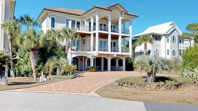 """Photo for Ready Now- No Storm Issues! Plantation Home Just Steps From Beach, Pool, Fireplace, Elevator, Free Beach Gear, 3BR/3.5BA """"A Glimpse Of Heaven"""""""