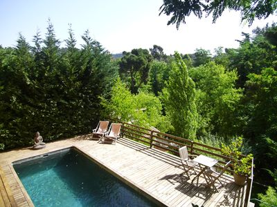 Photo for Charming house with pool and garden 10 minutes from Barcelona