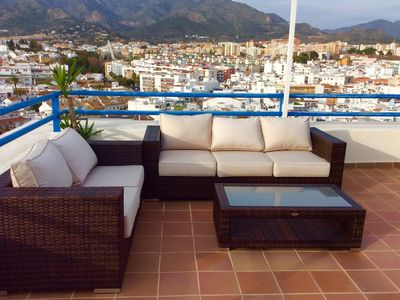 Photo for Frontline Penthouse Apartment Marbella with stunning views