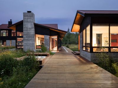 Book this Contemporary Luxury Lodge in Wilson, WY for Your Summer Retreat!