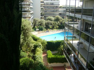 Photo for Apartment T3 in luxury residence with pool / garage (box)