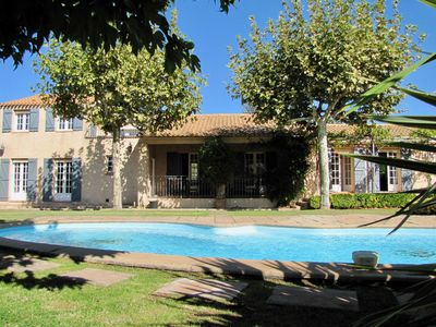 Photo for VILLA WITH VIEW - 5 BEDROOMS - 10 BEDS - PRIVATE POOL