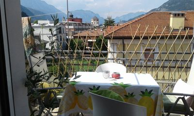Photo for Beautiful apartment in the city center of Trento with a magnificent terrace.