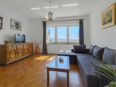 Photo for *BEST BUY* A2- Spacious apartment with balcony and sea view