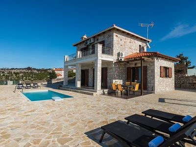 Photo for Villa Orpheus - Beautiful New Traditional Style Villa with A/C and Private Pool ! - Free WiFi