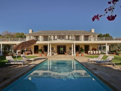 Photo for The Constantia nestles among vineyards with spectacular mountain views.