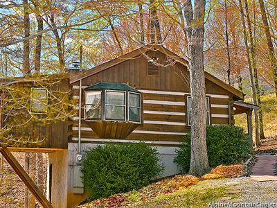 Photo for Get N Lucky is charming one bedroom cabin just 5 miles west of the main parkway in Pigeon Forge!