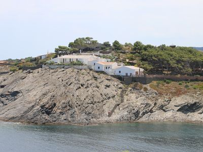 Photo for A unique seafront villa with infinity pool in Cadaques, Spain