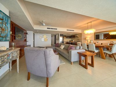 Photo for ✪Stylish Beachfront Condo ✪Private seaview jacuzzi ✪Walking distance everywhere