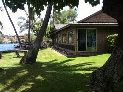 Makena Cottage on the water.