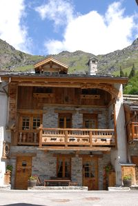 Photo for Magnificent and luxurious chalet of village of Champagny in Vanoise
