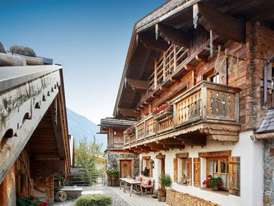 Photo for large, rustic 4 * Almchalet for 10-12 persons