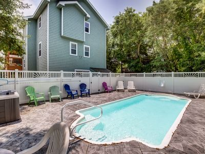 Photo for Daisy May | 2290 ft from the beach | Private Pool, Hot Tub