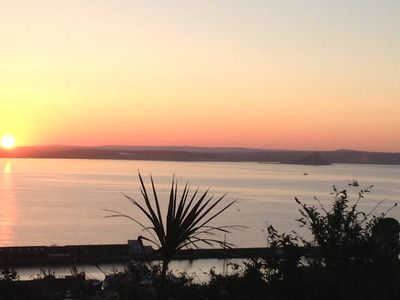 Photo for Beautiful views over Mounts Bay and St Michael's Mount
