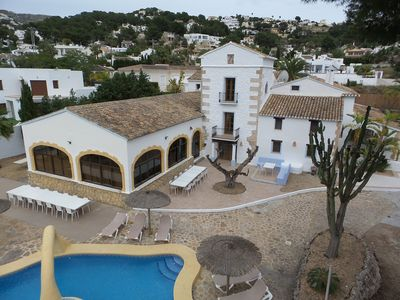 Photo for Fabulous Traditional House in Moraira, Costa Blanca North, Spain