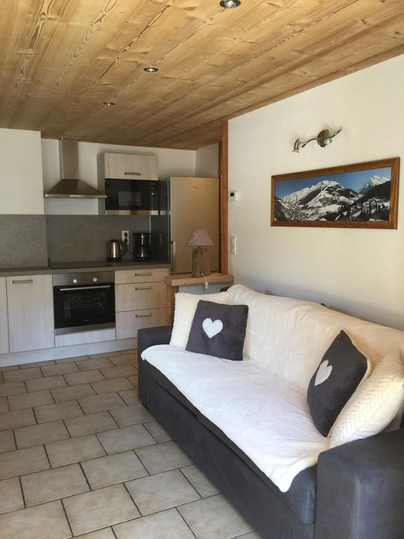 Appartement  *** wifi, place de parking, au centre de La Clusaz