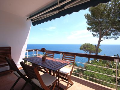Photo for BIG HOUSE WITH PANORAMIC VIEWS in CALA SALIONS