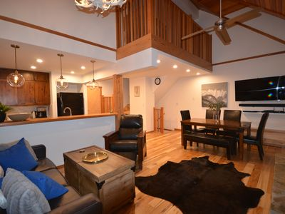 Photo for Luxurious Kicking Horse Ski in Ski out town home with garage