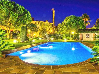 Photo for Two big restored medieval houses with private pool in the Costa Daurada