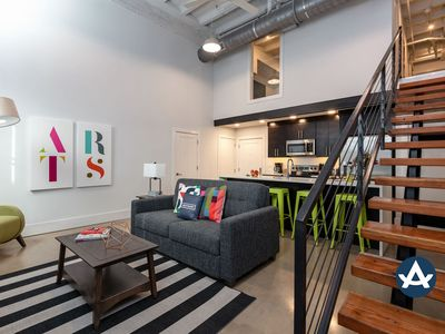 Photo for Sextant | Motorworks | 2 Story 2 Bedroom | 15 min to Bourbon St