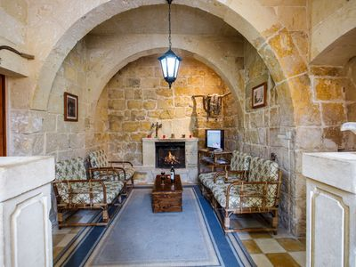 Gozo, semi detached farmhouse with sunny terraces and free internet access.