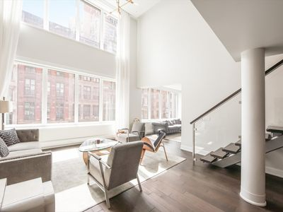 Photo for Luxury Four Bedroom Apartment in Tribeca