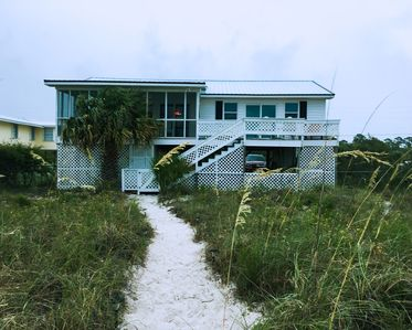 "Photo for *Undamaged by Hurricane* Charming Alligator Point ""Old Florida"" Beach Cottage"