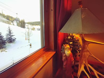 Photo for True SKI IN/OUT&GREAT VIEW of slopes, gondola from every window & bed & balcony!