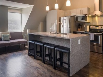 Photo for PENTHOUSE APT IN HEART OF DOWNTOWN W/ FREE PARKING