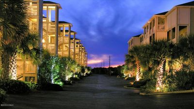 The Ocean Club Resort lit up at night is simply stunning!