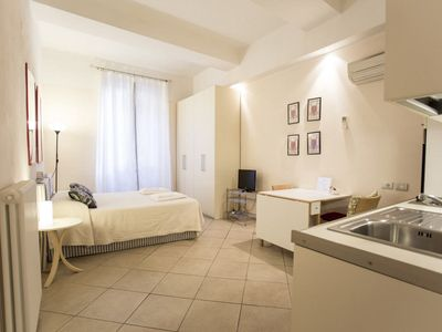 Photo for Residenza Ariosto- Spacious Studio near the Towers!