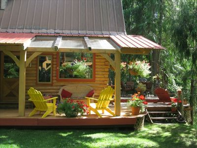 Photo for Kaslo Getaway Vacation Rental - a Cozy, Private and Natural Kaslo Experience